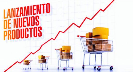 lanzamiento de productos al mercado